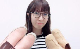 歩きやすい、履きやすい、ぴったりフィット感、軽い、可愛い!モダラディアン我が社の靴、大好きです!